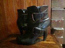 womens RMK ankle style leather boots SZ 7.5
