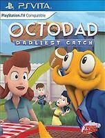 Octodad: Dadliest Catch (Sony PlayStation Vita, 2016) limited run games