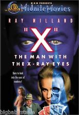 """""""X"""": THE MAN WITH THE X-RAY EYES Midnite Movies Brand New & Factory Sealed DVD"""