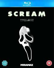 SCREAM - 1 2 & 3 TRILOGY BOXSET **BRAND NEW BLU-RAY**