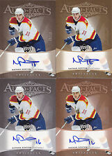 05-06 Artifacts Nathan Horton /50 Auto SILVER Auto-Facts Panthers 2005