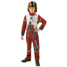 Star Wars Big Girls' Classic Poe - X-wing Fighter Pilot Costume Large/ 7-8