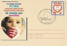 Poland postmark KATOWICE - VII final WOSP (analogous)