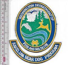 K-9 Police Washington State Department of Fish & Wildlife Karelian Bear Dog Prog