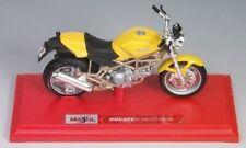 Ducati Monster 900 Yellow Maisto 1:18