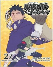Naruto Shippuden Uncut Set 27 [New DVD] Eco Amaray Case, Slipsleeve Packaging