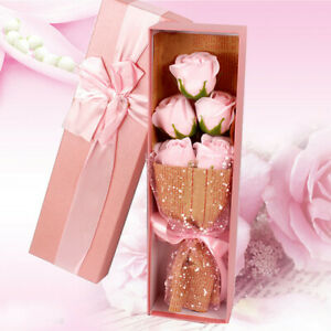Roses Soap Flower Soap Bouquets Gift Box Valentine's Fift Wedding Decoration