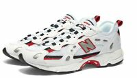 NEW BALANCE ML827AAB WHITE, BLACK & RED / MEN'S SNEAKER / Limited Size