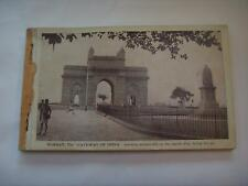 More details for booklet of 20 india bombay unused postcards 1930s? taj mahal hotel cars trams