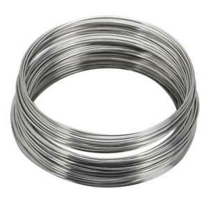 100pcs Silver Metal Loop Memory Wire Circle For Cuff Bangle Bracelet Making 55mm