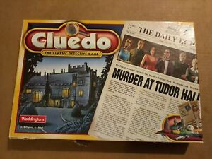 Cluedo 2000 Edition - Unused, Contents Mint
