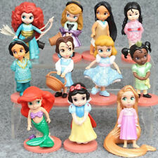 "11 pcs/set Disney Princess 3"" Figures Cake Topper Collectible Toy Gift For Kids"