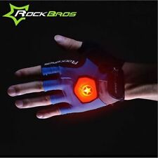 Rockbros cycling gloves with LED light