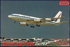 Roden 1/144 Boeing 720 United Airlines # 320