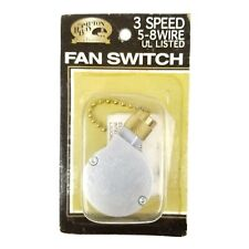 Hampton Bay 3 Speed 5 - 8 Wire Fan Switch HB 105 NEW