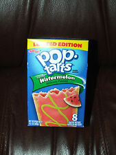Kellogg's Pop Tarts LIMITED EDITION FROSTED WATERMELON Toaster Pastries