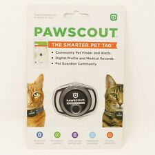 PAWSCOUT The Smarter Pet Tag iOS/Android Free App Pet Finder CAT Bluetooth