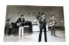 c1960s KEN REGAN Rock Band THE BEE GEES performing on stage 14 x 9 3/4 PHOTO