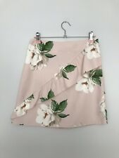 Pink Floral Skirt Size 8