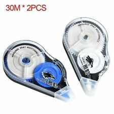 2pcs Economical Correction Tape 30m Long Sticker Belt Office Decorative Supplies