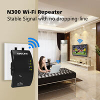 Wavlink 300Mbps Wi-Fi Repeater Range Extender Access Point with Ethernet Port
