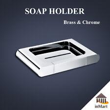 MIIKe36 Soap Basket / Soap Holder Bathroom Shower Toilet Brass Chrome