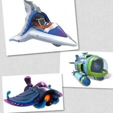 Skylanders Supercharger Lot of 3 - (Dive Bomber,Sea Shadow, Sky Slicer) for kids