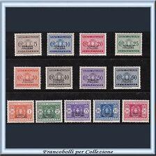Colonie Italiane 1934 Somalia Segnatasse Serie n. 52/64 Nuovi Integri **
