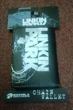 Vintage Linkin Park Atomic Age Leather Wallet Chester Bennington Brand New