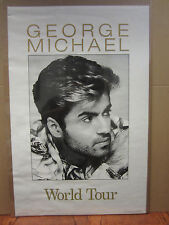 Vintage George Michael world tour poster  3394