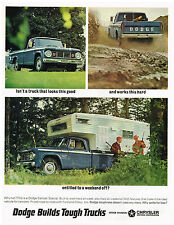 Vintage 1966 Magazine Ad Dodge Truck Looks Good Works Hard Why Settle For Less