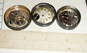 Antique Wristwatch Movement Assortment (Includes all 3 cans)