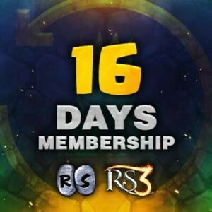 16 Day Runescape Membership - Cheaper than BOND!