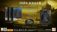 DARK SOULS III 3 APOCALYPSE EDITION - SONY PS4 - NUOVO NEW EUROPEAN VERSION