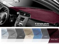 Fits 2011-2013 Ford Fiesta Dashboard Mat Pad Dash Cover-Wine