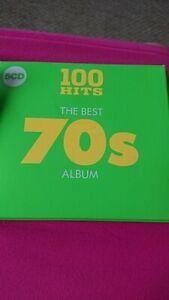100 Hits The Best 70s Album 5 CD Set