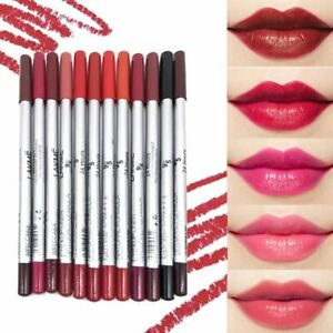 UK 12 True Colours Professional Waterproof Lip Liner Makeup Lip Kit Pencil -LKM