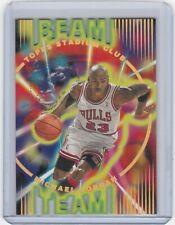 🔥Michael Jordan 1995-96 Stadium Club Beam Team #BT14 RARE 1:1440 Packs Die Cut