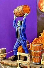 Aurora Monster Scenes Scale Strange Frankenstein Throwing Barrel Resin model