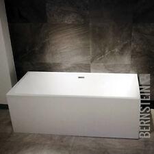 BERNSTEIN Design Badewanne Freistehende Wanne NADI ACRYL nahtfrei Armatur