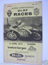 1975 INTERNATIONALE OLOF RACES  BEEKSE BERGEN TILBURG 13-4-1975,HARTOG PJ79