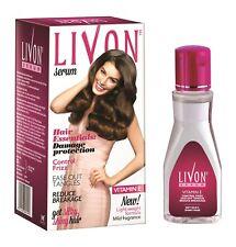 Livon Hair Serum Damage Protection Anti Frizz Breakage Silky Shiny Hair 100ml