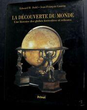 La découverte du monde globes terrestres céleste mappemondes livre 156 pages