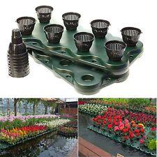 16Plugs /2pcs Aquaponics Floating Pond Planter Basket- Hydroponic Island Gardens