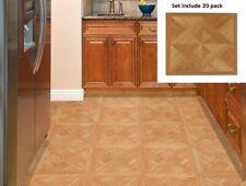 Floor Vinyl Tile 20 Pack Luxury Flooring Tiles Peel And Stick Self Adhesive New