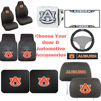 NCAA Auburn Tigers Choose Your Gear Automotive Accessories Official Licensed