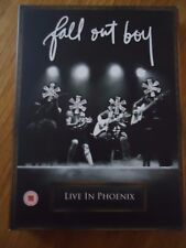 DVD + CD ** FALL OUT BOY LIVE IN PHOENIX **  MUSIQUE CONCERT