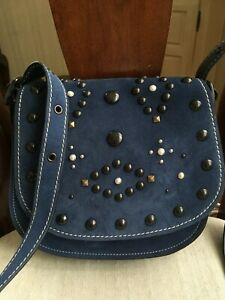 NWOT COACH SADDLE 23 W. WESTERN RIVETS--STYLE 56621--NEVER CARRIED--BRAND NEW