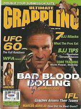 Ken Shamrock Signed MMA '06 Ultimate Grappling Magazine PSA/DNA COA UFC WWE Auto