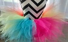 Womens size large/ xl plus size  fluffy  neon tutu skirt usa  sz 14-16 women's